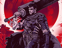 Berserk Screenprint