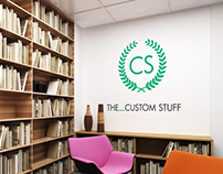 The Custom Stuff branding and shop