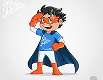The Power of Play Mascot