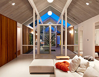 Double Gable Eichler by Klopf Architecture