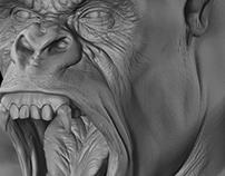 Gorilla Sculpt