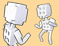 Voxel Dancing Animations