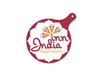 Indian food restaurant INN INDIA logo