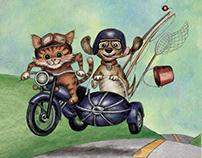 Children's Illustrations – Mixed Media