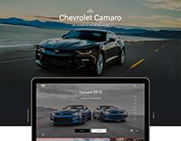 Camaro digital concept website