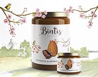 Bintis Nut Butters Branding and Packaging