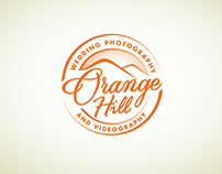 Logo for Orange Hill photography and videography