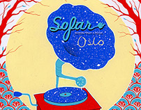 Poster for Sofar Sounds Oslo