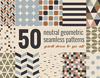 Minimal geometric patterns set