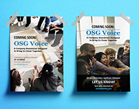 OSG Voice Announcement Posters