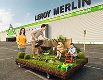 "CG IMAGE FOR ""LEROY MERLIN"""