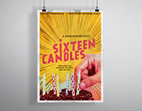 Print/Collateral Design: Retro-Inspired Movie Posters