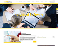 COMTEC Website Layout