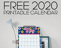 Personal Project: 2020 Calendar