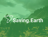 Saving Earth // Logo Design