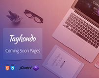 Taykondo - Coming soon Template