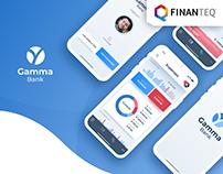Gamma Bank - Mobile Banking App Concept