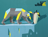 "Illustration, prepared for the contest "" Global warming"