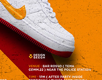 Sneaker Party Flyer