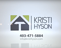 Videography Project- Kristi Hyson