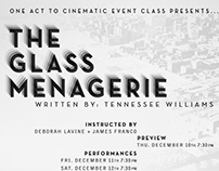 The Glass Menagerie // Poster Design
