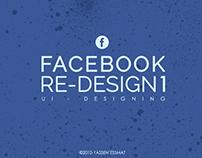 Facebook Re-Design 1