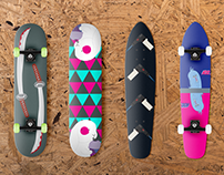 Skateboards Design - Mockup