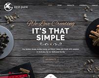 Red Jade Foods Website