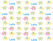Personalized Toddlers' Textile Patterns