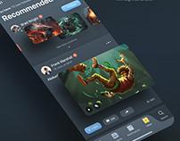 Infinite Portfolio UI Kit