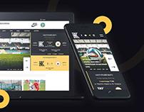 Website - football club Kolos