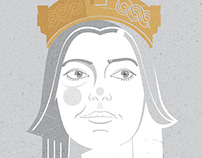 illustrations / stories about fearless Croatian women