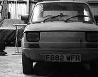 Classic Car (Fiat 126) Photography