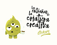 La Criatura creativa - Stickers