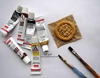 Miniature Fake food by Gül ipek /istanbul