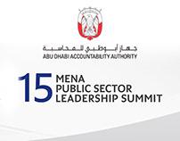 Abu Dhabi Accountability Authority - Leadership Summit