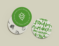 Verde Que te quiero: Restaurant branding