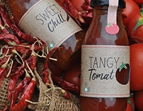 Sauce Packaging - Label Designing