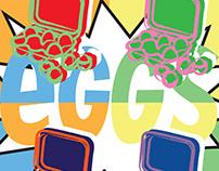 Pop eggs