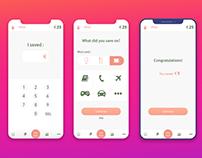 elegant design app user interface