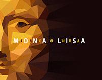 Portrait of Mona Lisa.