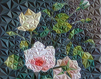 SHAKA LAKA - floral paper construction