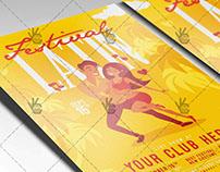 Latin Festival - Premium Flyer PSD Template