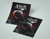 Free Show Musical Flyer