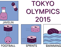 Tokyo Olympic Icons 2015