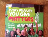 Macmillan Cancer Support volunteer handbook