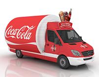 Propuesta Camión Sampling Coca Cola / Momentum Chile