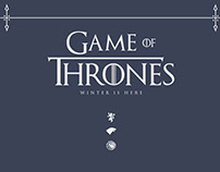 Poster Recreation: Game of Thrones