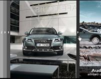Audi A4 allroad quattro, Campaign Microsite.