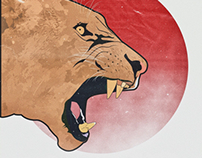 Roar of a Lioness illustrated